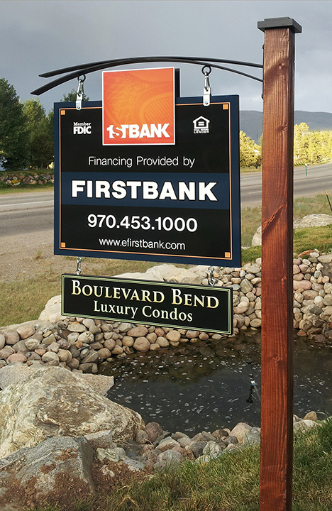 1st Bank Site Sign