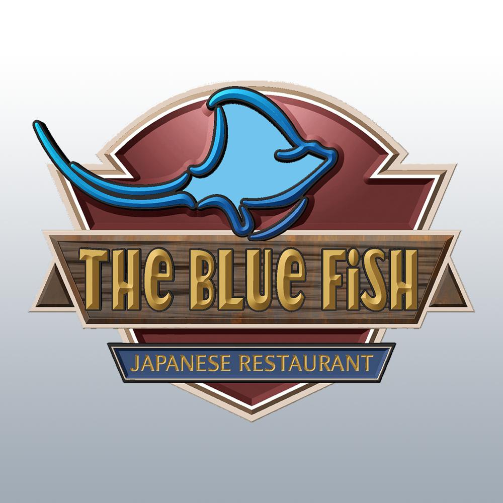 The Blue Fish Logo
