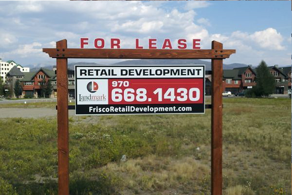 Landmark Realty For Sale Sign